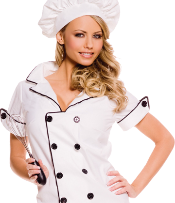 girl chef frulla